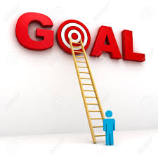 work goals clipart clipartfest goal setting man aiming to