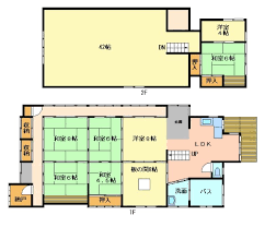 Shojiko Traditional Japanese House     Floor Plan  amp  MapFloor Plan  amp  Map