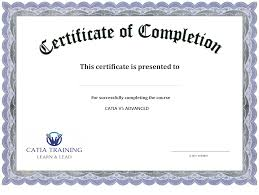 certificate of completion templates excel pdf formats