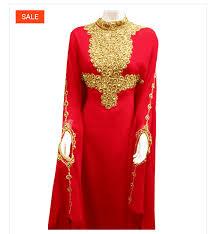 Buy <b>beautiful Red African</b> Abaya Online at Afrizar