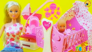 Кукла Штеффи с младенцем, познавательный обзор ...