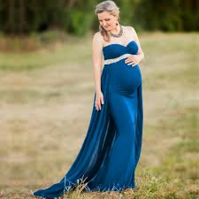 <b>Maternity Dresses For</b> Photo Shooting Red Pregnancy Maternity ...