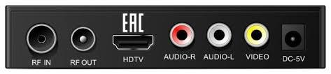 Купить <b>TV</b>-<b>тюнер ECON DTE</b>-<b>220CWF</b> черный по низкой цене с ...