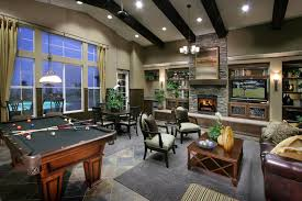 pool tables basements and interiors on pinterest basement rec room decorating