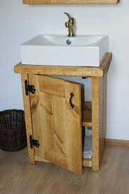 washstand bathroom pine: bathroom basin washstand sink rustic pine hardwax by elkwoodcraft