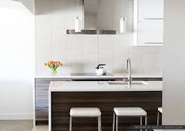 subway kitchen white glass subway backsplash tile