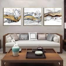 Minimalist <b>Geometric</b> Grey Black Color Block <b>Landscape</b> Abstract ...