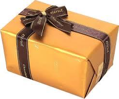 <b>Набор шоколадных конфет</b> в золотой подарочной упаковке 110 гр.