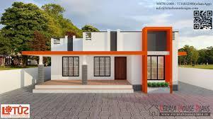 Sqft Budget Contemporary Style Home Design   Kerala House    budget kerala style house
