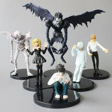 <b>High Quality 6 pcs</b>/Set death note L Killer Ryuuku Rem Misa Amane ...