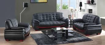 living room modern leather sofa set black remove smoke smell from leather red and black black leather living room