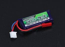 <b>Аккумулятор</b> Turnigy <b>nano</b>-<b>tech</b> 300mah 2S 35~70C Lipo Pack ...