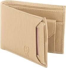 SAMTROH <b>Men Casual</b> Beige Artificial <b>Leather</b> Wallet BEIGE - Price ...