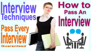 interview techniques and skills pass interview easily interview techniques and skills pass interview easily