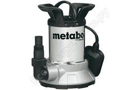 Дренажный <b>насос Metabo TPF</b> 6600 SN 0250660006 - цена ...