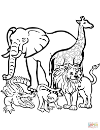 Small Picture Male African Lion coloring page Free Printable Coloring Pages