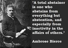 Ambrose Bierce Quotes Nature. QuotesGram