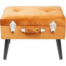 <b>Пуф Suitcase</b> Orange <b>KARE</b> (Германия) купить в интернет ...