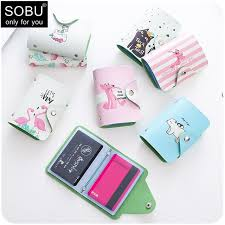 business card holder pu leather credit holder antitheft wallets automatic pop up case aluminium alloy