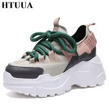 HTUUA <b>2018 Spring Autumn</b> Women Casual Shoes Comfortable ...