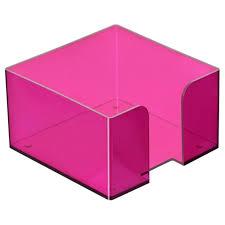 <b>Подставка</b> для бумажного блока Стамм ПЛ52 слива, 9.5х9.<b>5х5</b> ...