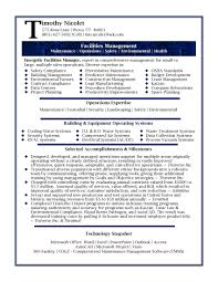 business management resume profile examples sample facilities cover letter business management resume profile examples sample facilities manager pageexample of professional resume