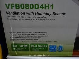 bathroom fan humidity