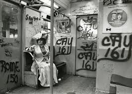fashion meets architecture in revived photo essay nbc news image editta sherman rides the subway dressed in a victorian period costume to a photo