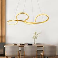 Gold <b>Creativity Modern Led Chandelier</b> Light New Design Crystal ...