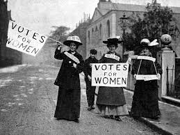 Image result for free images of suffragettes