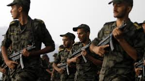 Image result for Saudi soldiers exercise before a military parade PHOTO