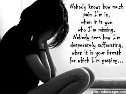 I Miss You Messages for Husband: Missing You Quotes for Him | Sms ...