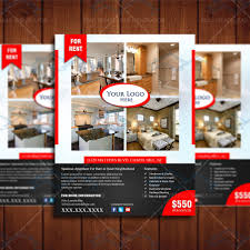 for rent real apartment listing design template real estate lead for lease flyer 4 product 1