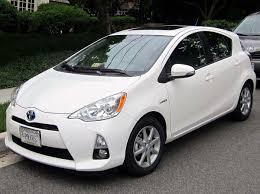 Toyota Prius C - Wikipedia