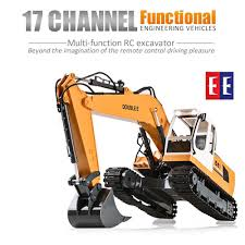 Double E 561-003 <b>DIY</b> RC EXCAVATOR 17Channel 1:16 Scale 16 ...