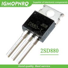 <b>10pcs D880 TO220 Transistor</b> D880 (Y) NPN Silicon Power ...