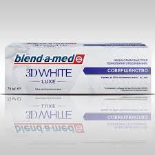 Blend-a-<b>med</b> 3D <b>White</b> Совершенство | <b>Зубная паста</b> на ...