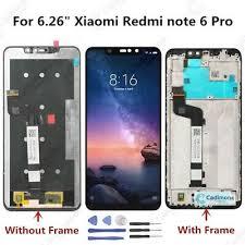 "<b>6.26</b>"" For Xiaomi Redmi note 6 Pro <b>LCD</b> Display Touch Screen ..."