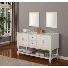 55 inch double sink bathroom vanity: direct vanity sink mission turnleg  in double vanity in pearl middot  inch double sink bathroom