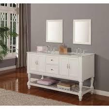 55 inch double sink bathroom vanity: direct vanity sink mission turnleg  in double vanity in pearl middot  inch double sink bathroom