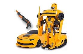 <b>Радиоуправляемый робот трансформер MZ</b> Chevrolet Camaro с ...