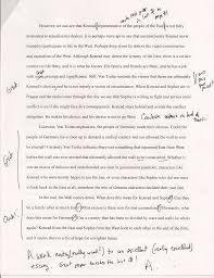 example papers modern german film example of a short paper instructor comments grade a