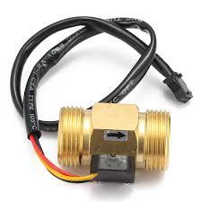 "<b>Flow</b> Sensor G3/4"" DN20 <b>Copper</b> Hall Effect Liquid Water <b>Flow</b> ..."