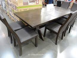 seven piece dining set: bayside furnishings xander  piece dining set costco