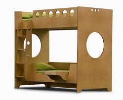 above made in brooklyn of baltic birch with a non toxic water based finish the marino bunk bed by casa kids is very compact and super sturdy bunk beds casa kids