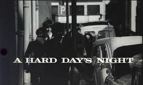 「A Hard Day's Night,」の画像検索結果