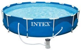 Купить <b>Intex Metal Frame 305х76</b> см blue в Москве: цена летнего ...