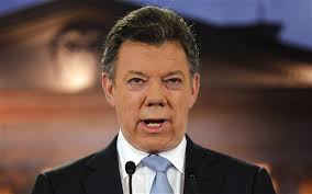 Colombian President Juan Manuel Santos has said he will undergo surgery this week after being diagnosed with prostate cancer. - Manuel-Santos_2357146b