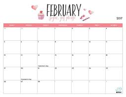 Image result for february 2017 calendar with important dates