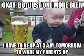 A Little (Literally) Drunk Baby for Your Saturday Night | Slightly ... via Relatably.com